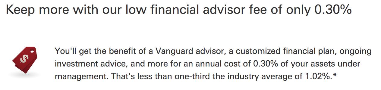 Vanguard-advisor-fees