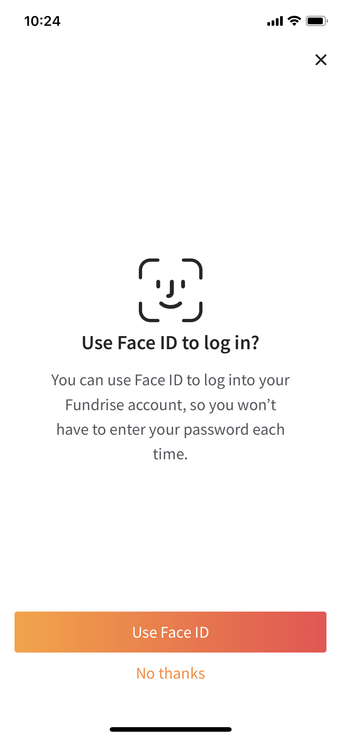 face-id=fundrise-investment-app-login